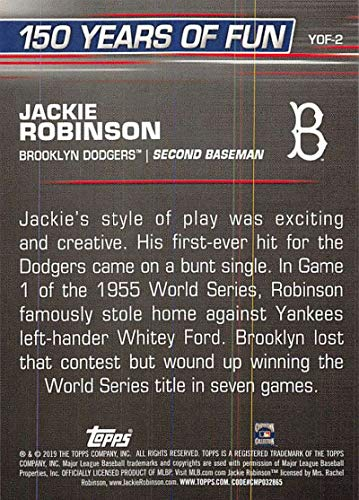 Buy topps jackie robinson card