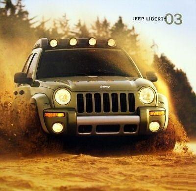 2003-jeep-liberty-prestige-vintage-color-sales-brochure-mexico-spanish-excellent-original-
