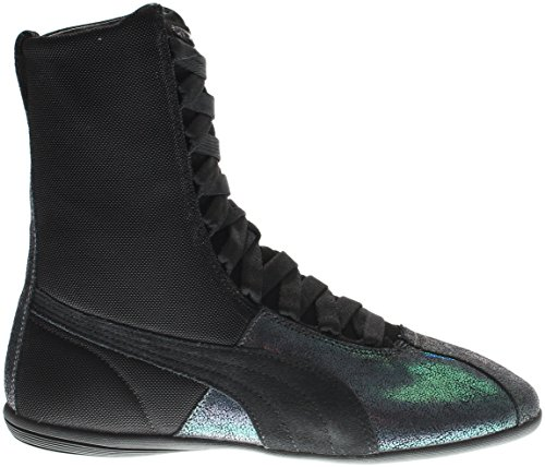 Puma Eskiva Hi Deep Summer Women US 9 Black Sneakers