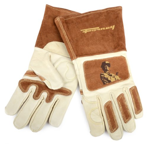 Forney 53410 Signature Men's Welding Gloves, Large (Welding Gloves Purpose)