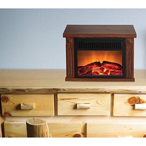 Warm-House-TZRF-10344-Zurich-Tabletop-Retro-Electric-Fireplace-Medium-Wood-Print-Finish