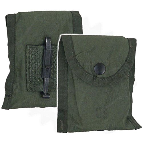 Genuine Issue U.S. Military Olive Drab First Aid and Compass Pouch ()