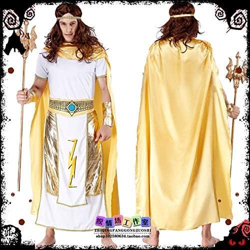 WSJDE Disfraz de Halloween Neptuno Ropa de Hombre Ropa de Mujer ...