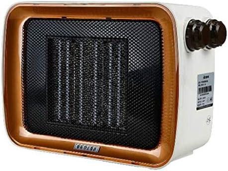 小型電気ヒーター、熱風ヒーター、寝室高速暖房炉、PTCセラミックヒーター、家庭用、低消費エネルギー騒音無しホワイト