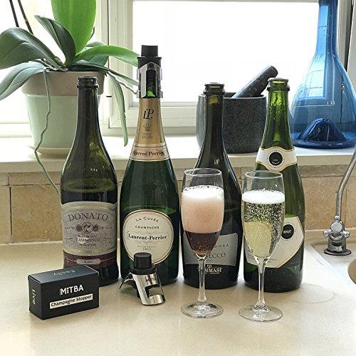 Champagne Stopper By Mitba Bottle Sealer For Champagne