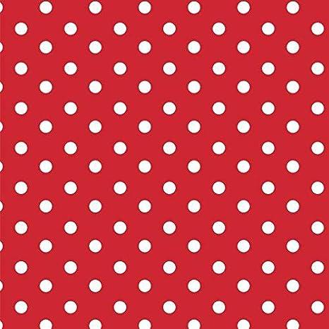 babrause/® Baumwollstoff Punkte Altrosa Webware Meterware Popeline OEKOTEX 150cm breit Ab 0,5 Meter