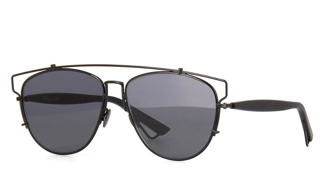 07ebcf43d9e Amazon.com  New Christian Dior TECHNOLOGIC 65Z 2K Black Dark Grey Sunglasses   Clothing