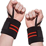 Terresa Wrist Brace Weight Lifting for Men Women, Wrist Wraps with Thumb Loop, Wrist Support Straps for Fitness, Powerlifting, Bodybuilding, Weight Lifting, Cross-Training, Gym Workout
