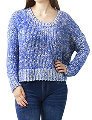 Women's Classical Soft Comfortable Knitting Pullover Fashion Sweater
