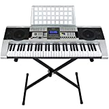 Image of Best Choice Products 61 Key Music Electronic Keyboard Piano With X Stand LCD Display Screen