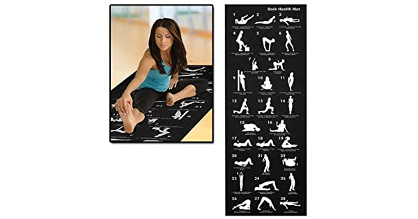 Amazon.com: AMOS – Esterilla para fitness gimnasio Physio ...
