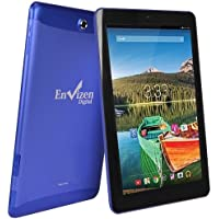 Envizen 10.1 Tablet 16GB Quad Core Android 4.4 WiFi 3G T-Mobile EVT10Q - Blue (Certified Refurbished)