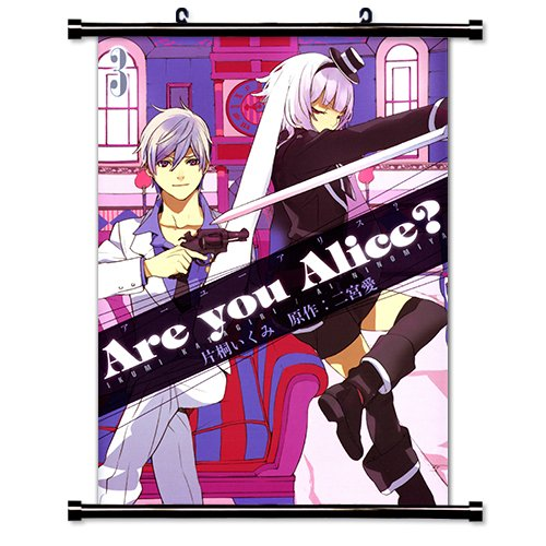 Are You Alice Anime Fabric Wall Scroll Poster (32 x 45) Inches. [WP]Are You-5 (L)