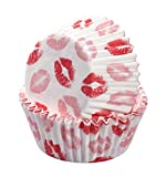 #8: Valentine's Day Red lips Baking Cup Cupcake Papers,Pack of 300
