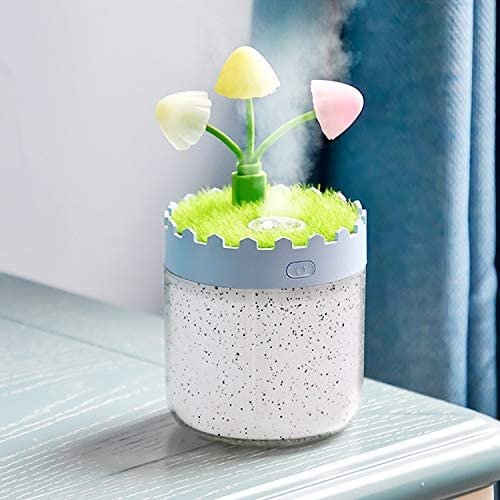 PINZHUOS Air Humidifier Lavender Landscape LED Humidifier