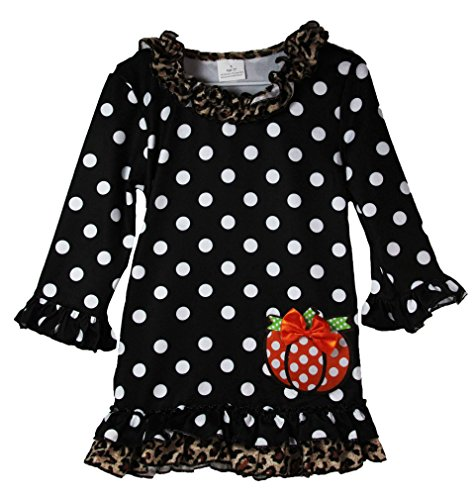 Wholesale Princess Polka Dot Pumpkin Dress (6 (Wholesale Pumpkin)