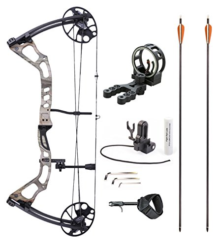 Leader Accessories Compound Bow 25-70lbs 19