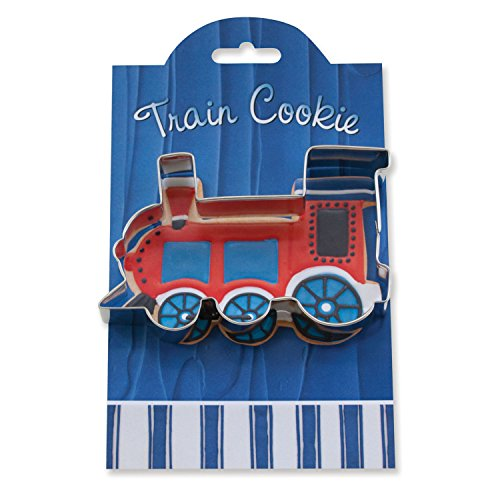 Train Cookie and Fondant Cutter - Ann Clark - 4.6 Inches - US Tin Plated (Thomas The Train Cookie Cutter)