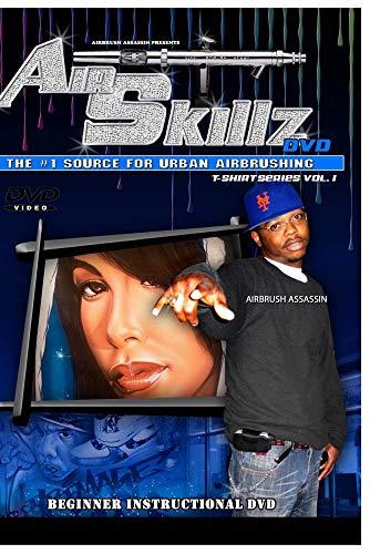 Air Skillz Hip Hop Airbrush DvD - Custom Airbrush Helmets