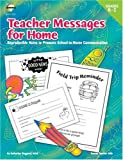 Teacher Messages for Home, Grades K To 2, Fearon, 0768204763