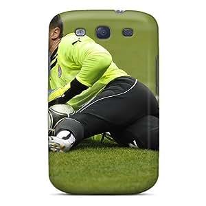 Durable Defender Case For Galaxy S3 Tpu Cover(amkar Goalkeeper Sergei Narubin On The Field)