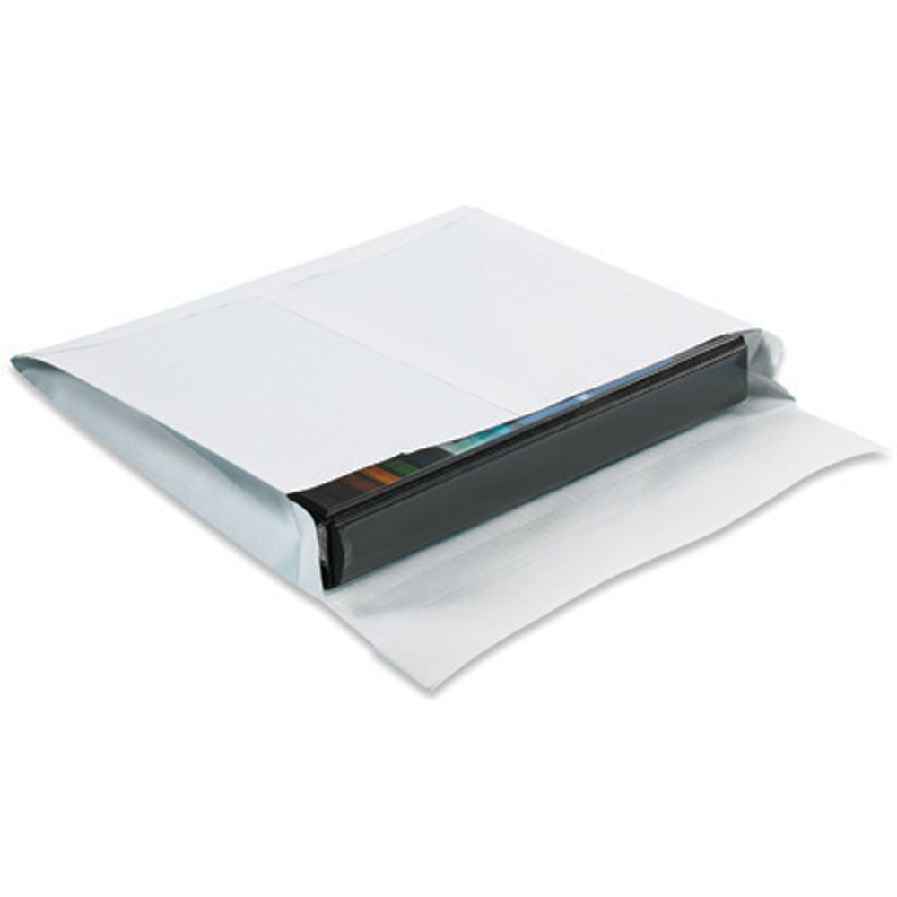 Quality Park SLE12162WS Ship-Lite Reinforced Paper Side Opening Expandable Envelope, 16'' Length x 12'' Width x 2'' Height, White (Case of 100)