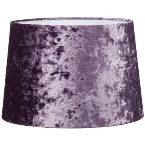 Luxury Living Mode Dual Purpose Purple Velvet Look Light Shade-9
