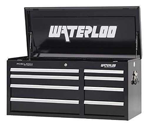 Waterloo Professional Series 8-Drawer Tool Chest with Int...