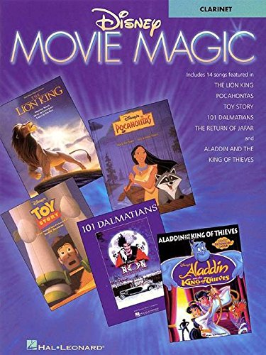 Disney Movie Magic: Clarinet Instrumental Solos (Disney Solos For Clarinet)