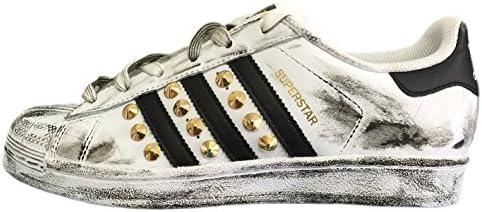 adidas superstar bianche borchie