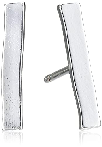 8a39ceefb Amazon.com: Gorjana Women's Taner Bar Mini Stud Earrings, Silver ...