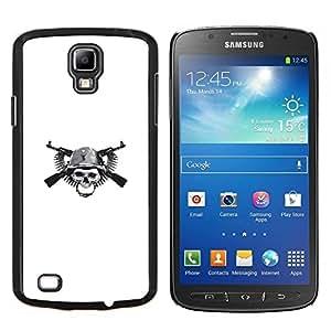 Stuss Case / Funda Carcasa protectora - Cráneo Guerra de guerrillas - Samsung Galaxy S4 Active i9295