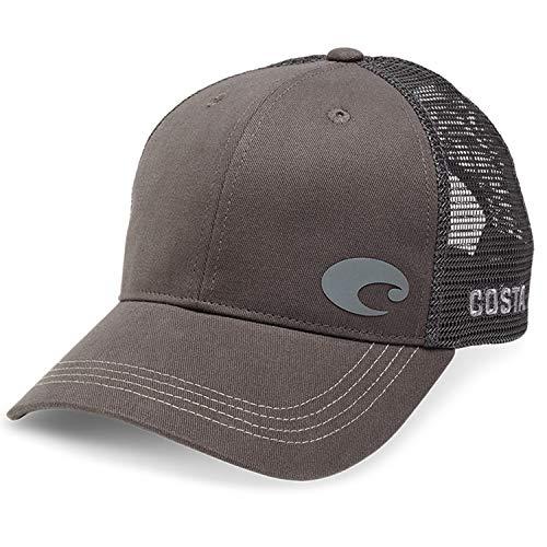 (Costa Del Mar Offset Logo XL Fit Trucker Hat,)