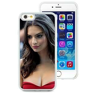 New Custom Designed Cover Case For iPhone 6 4.7 Inch TPU With Emily Ratajkowski Girl Mobile Wallpaper(343).jpg