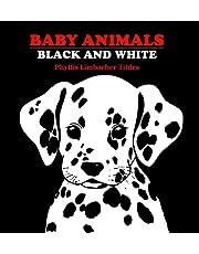 Baby Animals-Black And White