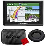 """Garmin Drive 52 5"""" GPS Navigator with Traffic Alerts with Case and Dash"""