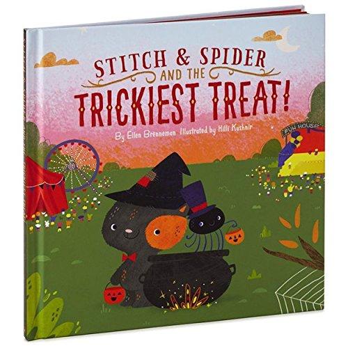 HALLOWEEN BOOK STITCH /& SPIDER AND THE TRICKIEST TREAT HALLMARK BOOK NEW