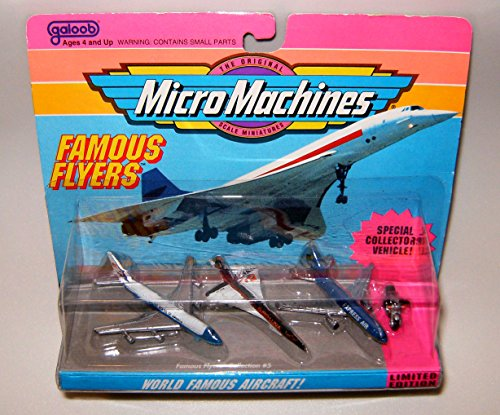 Micro Machines World Famous Aircraft Flyers #5