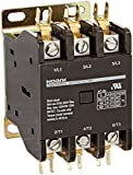 NOARK Electric Ex9CK60B30G7 Definite Purpose Contactor, Lug Terminals with Quick Connect Spades, 60 amp, 3 NO, 120V Coil