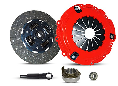 Cargo One Base 01 - Clutch Kit Works With Mazda B2600 Base LE-5 SE-5 Passenger Cargo LX 1989-1993 2.6L l4 GAS SOHC Naturally Aspirated (FUEL INJECTED ENGINE ONLY; Stage 1)