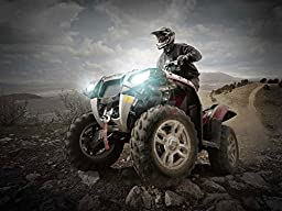 OPT7 Blitz 35w Slim HID Kit for Powersport ATV SidexSide - 9005 HB3 5000K 5K White Xenon Light Bulbs
