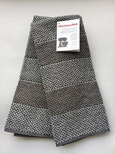 KitchenAid Gray Kitchen Towels 2 pack