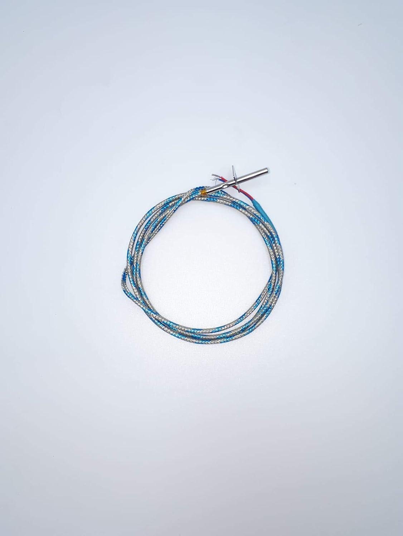 Sonda de humos para estufa de pellets Palazzetti – Royal – La Nordica Extraflame – Del Zotto L1200 con soporte 895722460