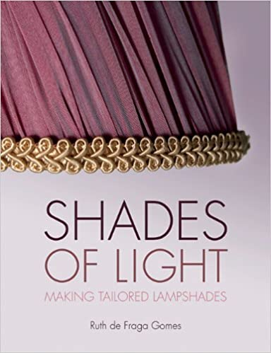 Shades Of Light: Making Tailored Lampshades: Ruth De Fraga Gomes:  9780719811050: Amazon.com: Books