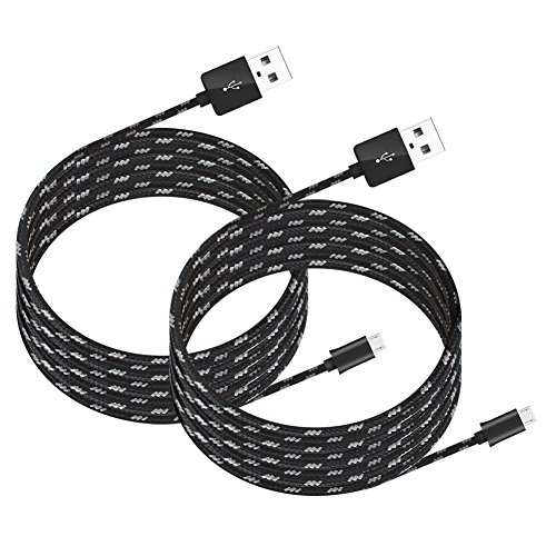 Kootek 2 Pcs 10ft Controller Charging Cable Sync for PS4 Pro/Slim/Regular Playstation 4 Controller Dual Shock 4 Xbox One Controller, Charger for Android, Galaxy, Sony, Samsung Phone (Best Casting Couch Videos)
