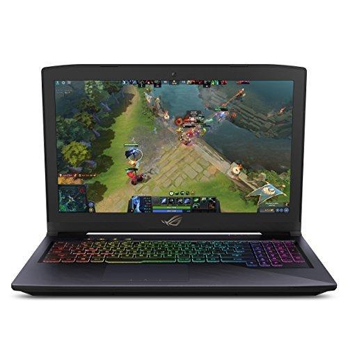 "ASUS ROG Strix Thin & Light Gaming Laptop, 15.6"" Full HD, Intel Core i7-7700HQ, NVIDIA GTX 1060 6GB Graphics, 16GB DDR4 RAM, 256GB NVMe SSD + 1TB FireCuda SSHD, Windows 10 Home, GL503VM-DB74"