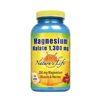Natures Life® Magnesium Malate 1300mg | with Malic Acid for Maximum Absorption | May Support