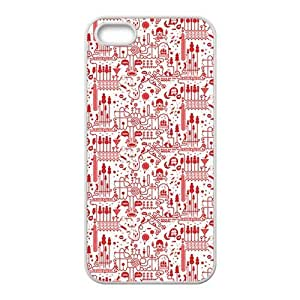 Cute Red personalized creative custom protective phone case for Iphone 6 plus 5.5