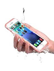 PISSION Waterproof Cases Full Protection Cover Transparent Bu...