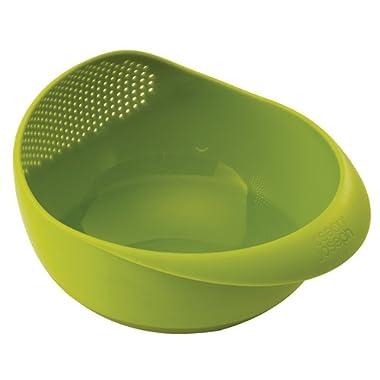 Joseph Joseph 40065 Prep & Serve Multi-Function Bowl with Integrated Colander, Small, Green
